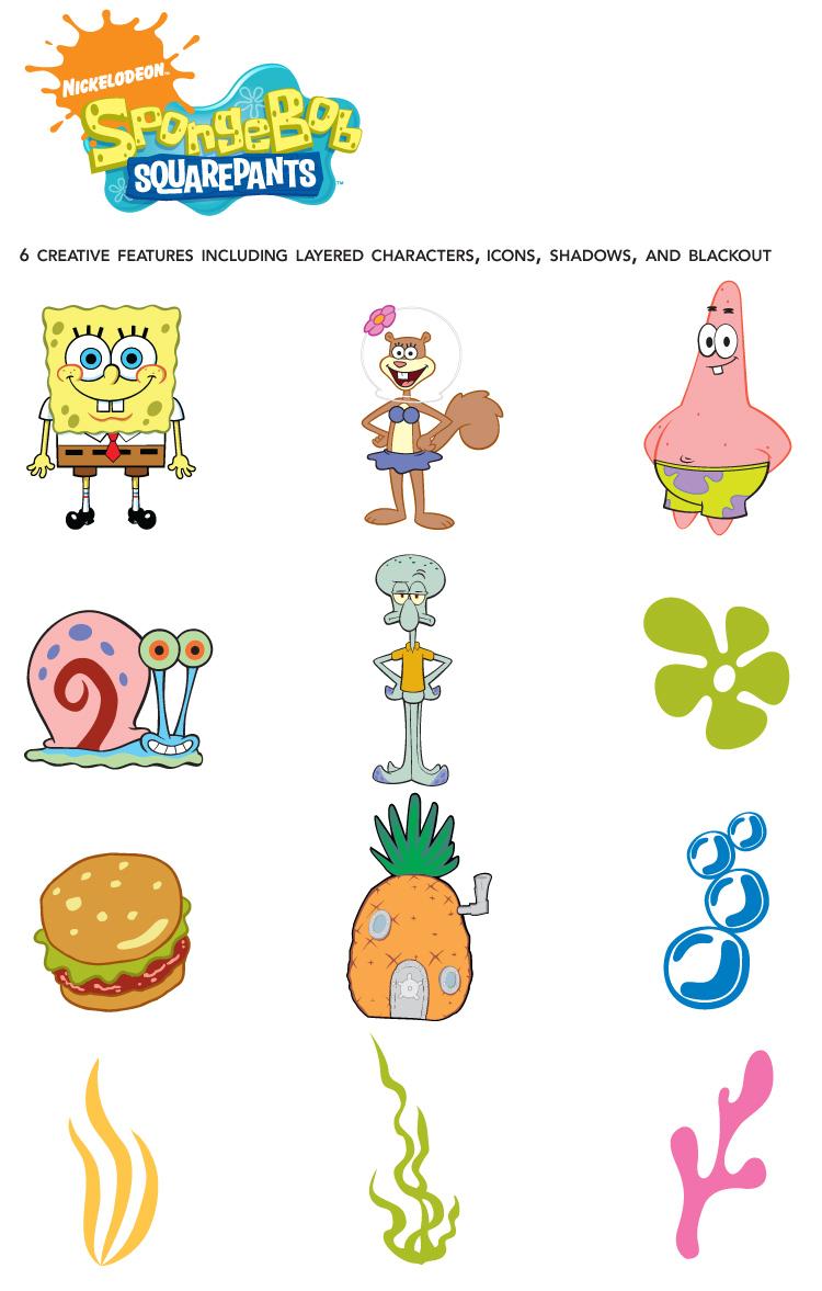 Spongebob Squarepants Characters Free Image