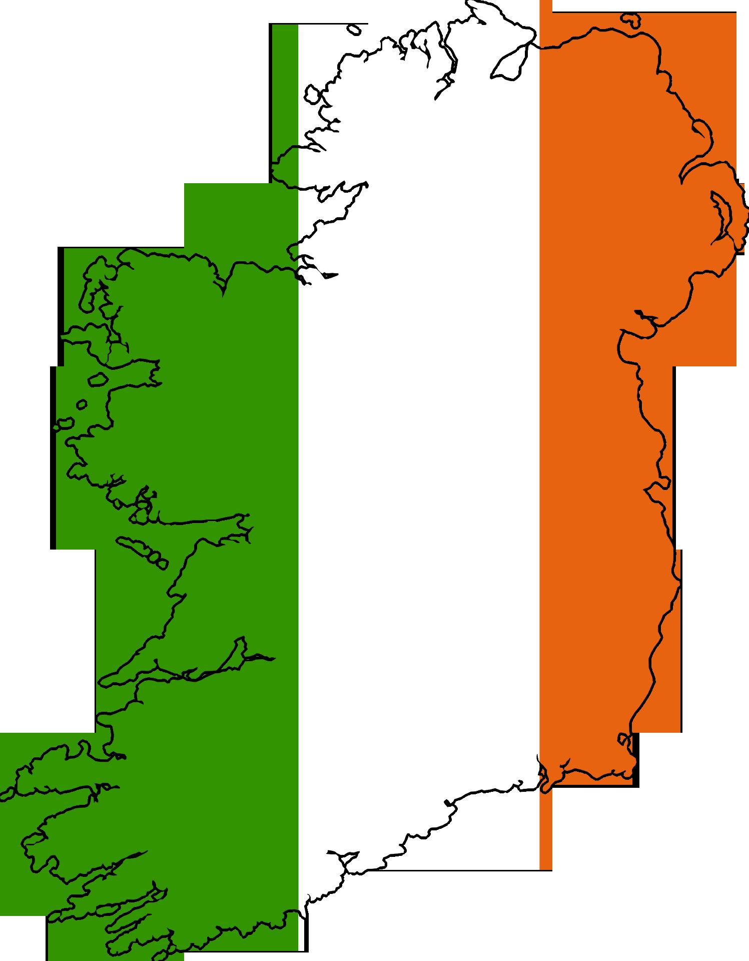 Map Of Ireland Drawing.Ireland Map Drawing Free Image