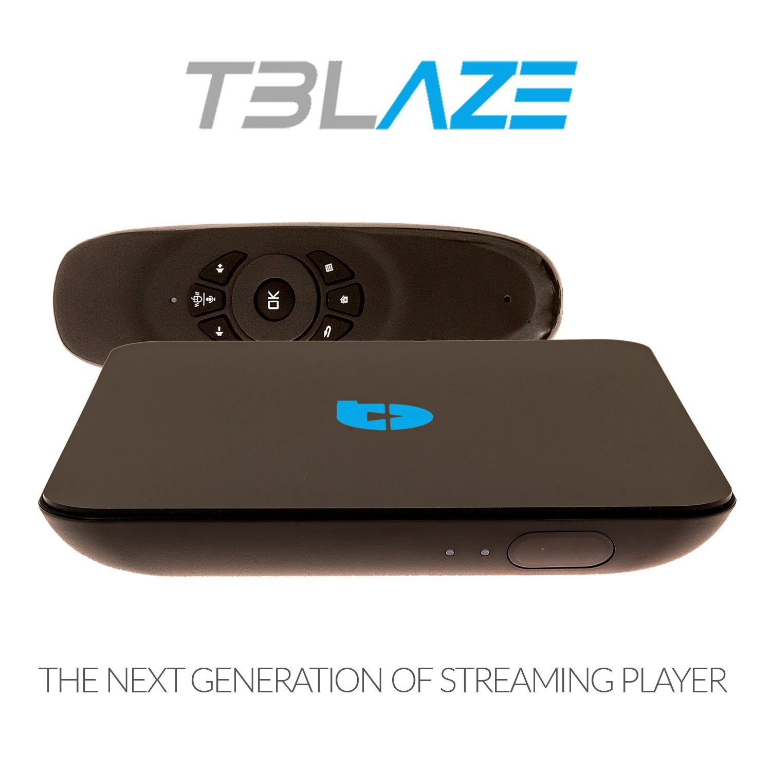 Tblaze Streaming Media Player & Android Smart TV Box With