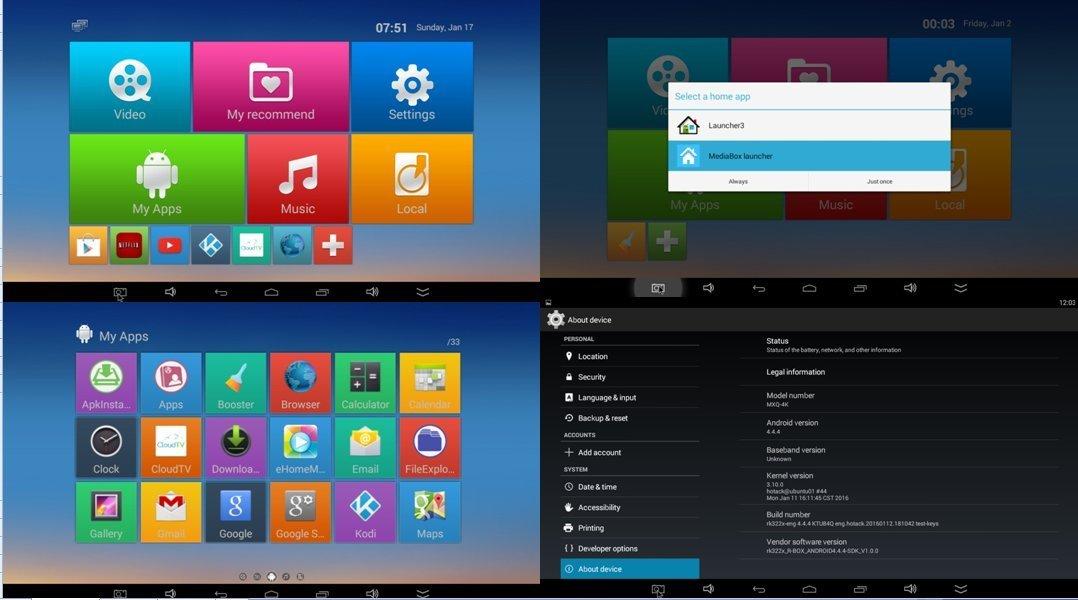 Apltch 2016 New MXS6 4K Android TV BOX Kodi Fully Loaded