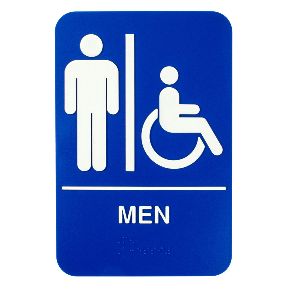 picture relating to No Public Restroom Sign Printable known as Mens Restroom Indication Printable no cost impression