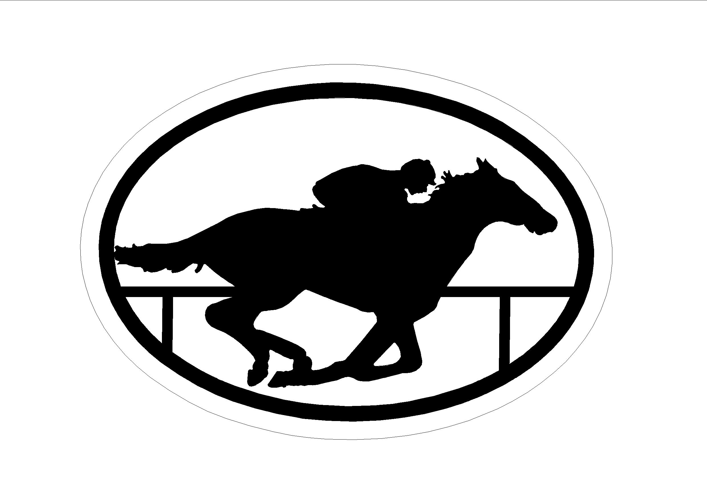 Clipart Of The Horse Rider Silhouette Free Image