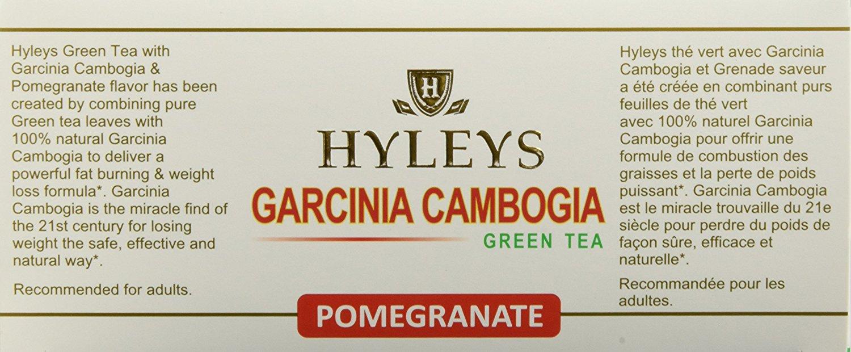 Hyleys Tea Garcinia Cambogia Wellness Tea Pomegranate 1 32 Ounce