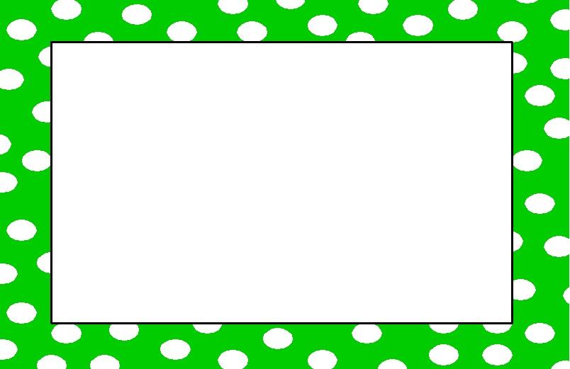 pink polka dot border clip art n2 free image