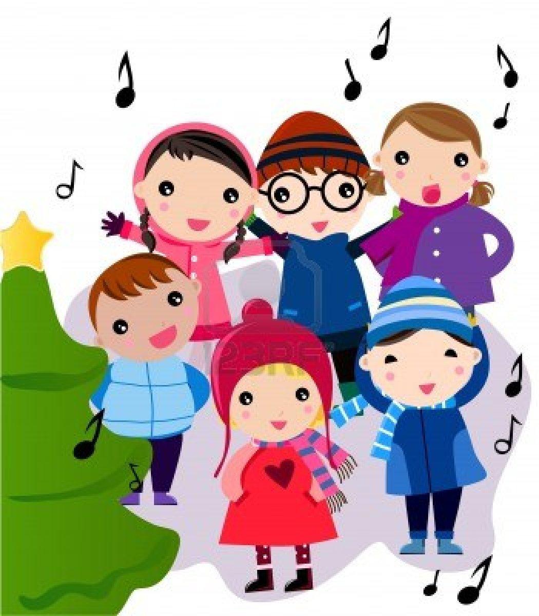 Christmas Carols Clipart.Christmas Carols Clip Art N7 Free Image