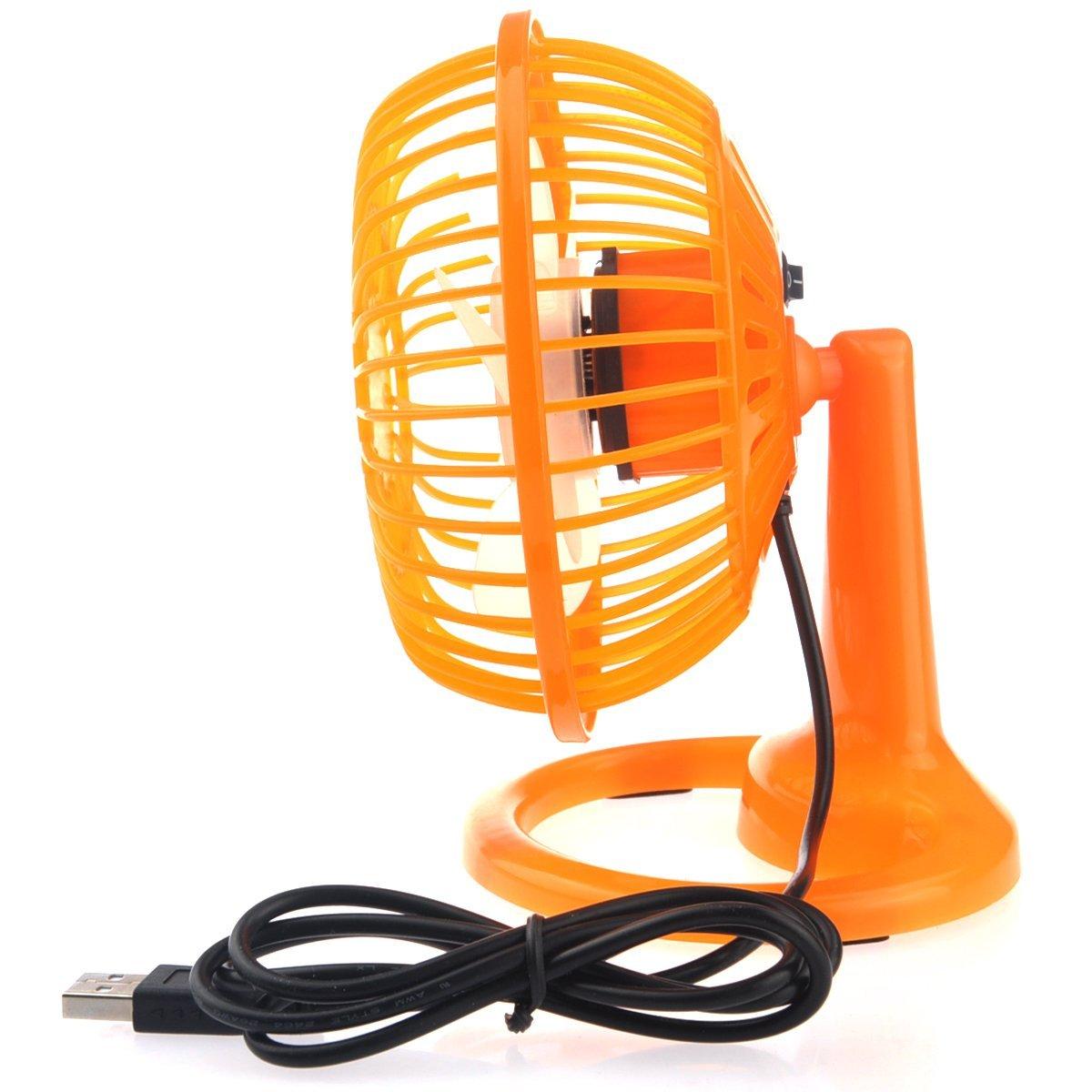 Bangcool Mini Fan Innovative Battery USB Power 360 Degree Adjustable