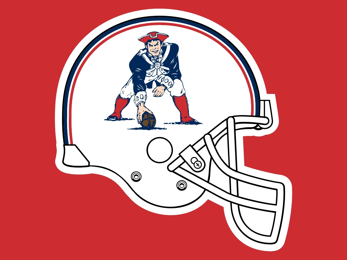 Image result for old patriots logo