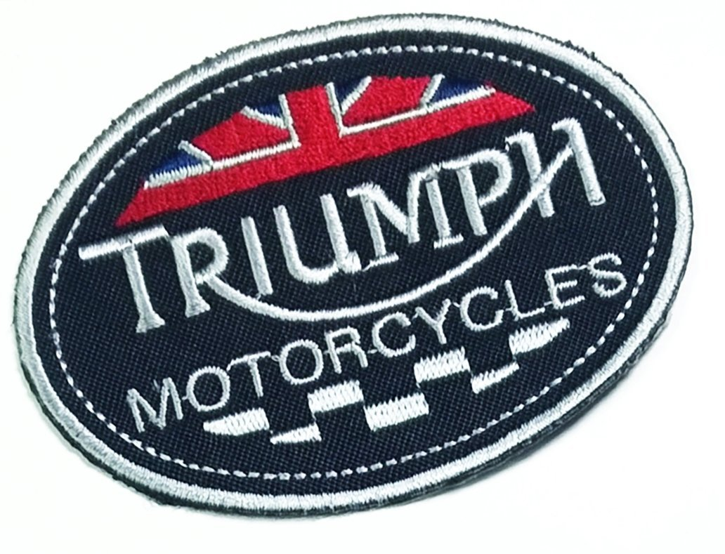 TRIUMPH RACING PATCH IRON OR SEW ON