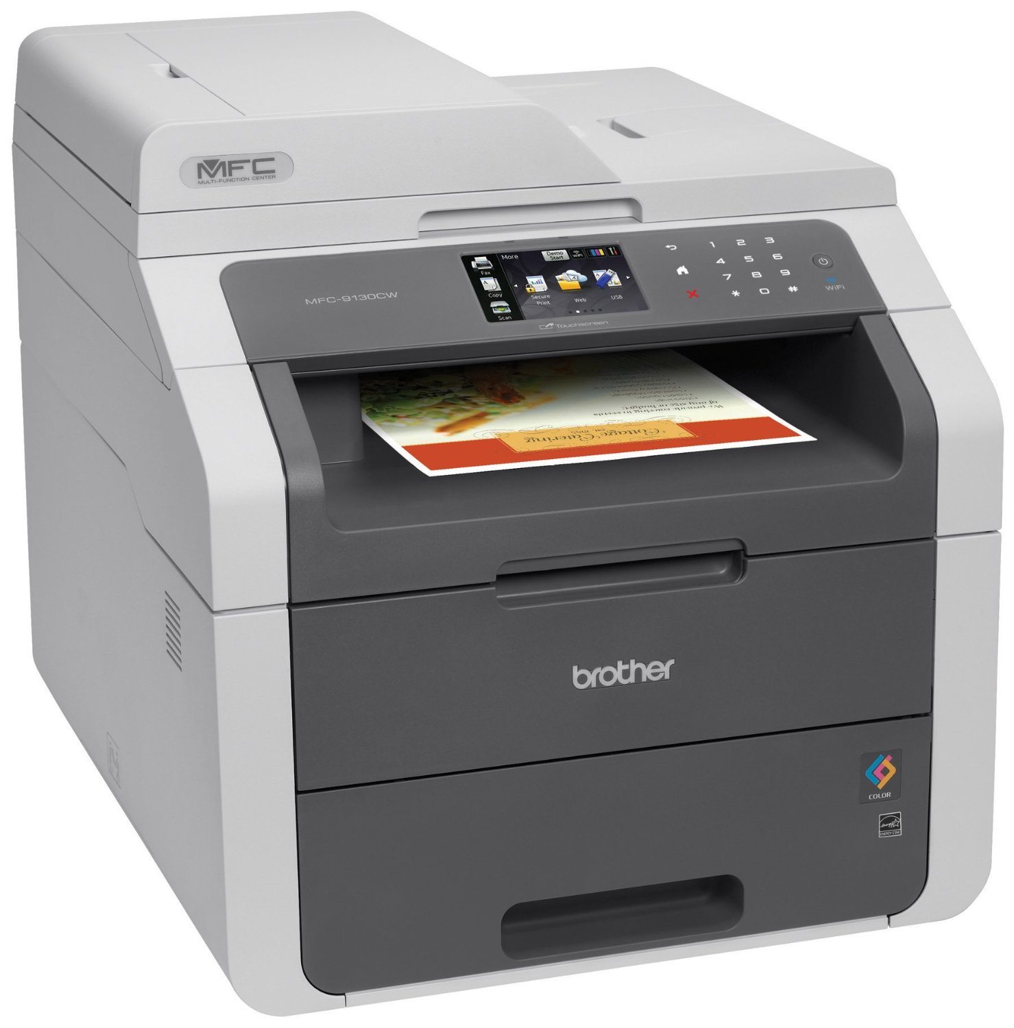 Brother Printer Rmfc9130cw Wireless Color Printer With Scanner