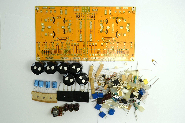 Q Baihe Diy Kit For Pass Zen Single End Class A Headphone Amplifier How To Build Amp 5w Dual 0 Ac24v N5