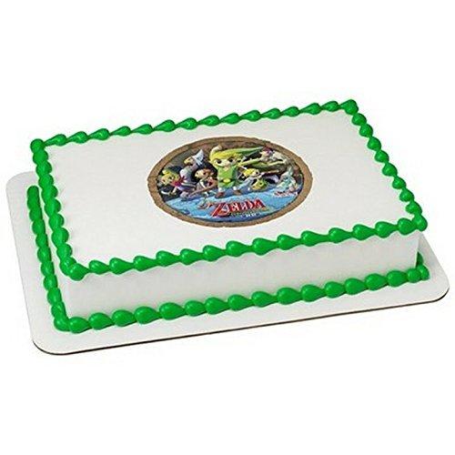 Outstanding 8 Round The Legend Of Zelda Birthday Edible Cake Cupcake Funny Birthday Cards Online Elaedamsfinfo