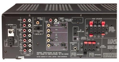 JVC RX-6008V Dolby Digital / DTS Audio/Video Receiver N2 free image