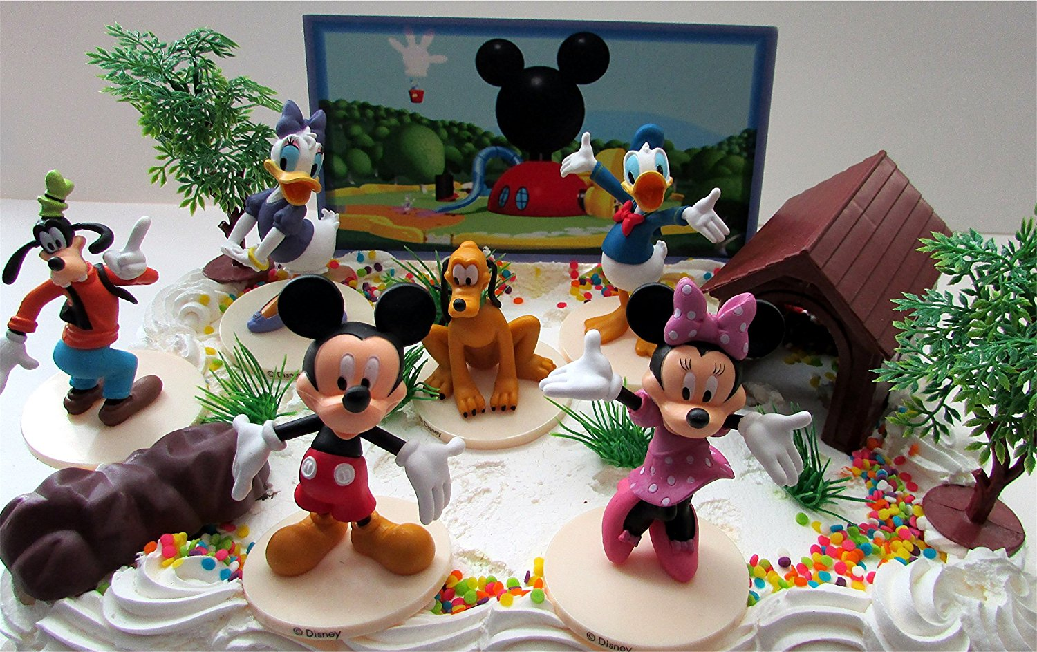 Remarkable Mickey Mouse Clubhouse Birthday Cake Topper Featuring Mickey Mouse Birthday Cards Printable Trancafe Filternl