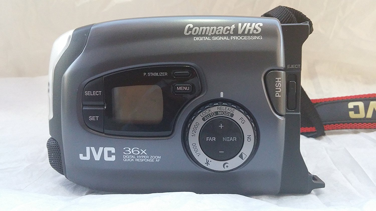 Jvc Compact Vhs Camcorder Gr Ax920 Free Image