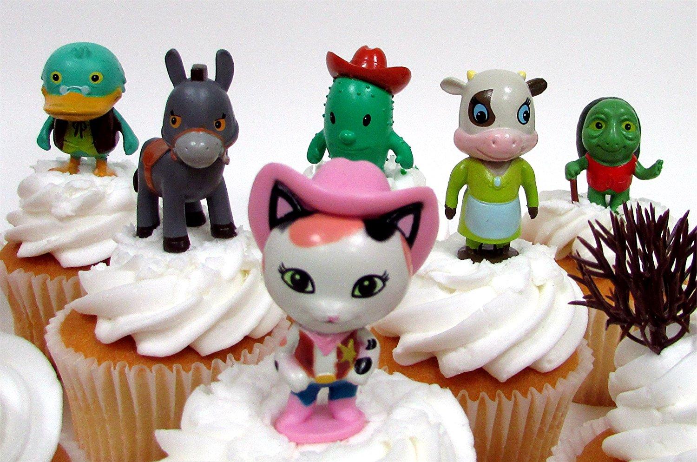 Sheriff Callie S Wild West 17 Piece Birthday Cupcake Topper