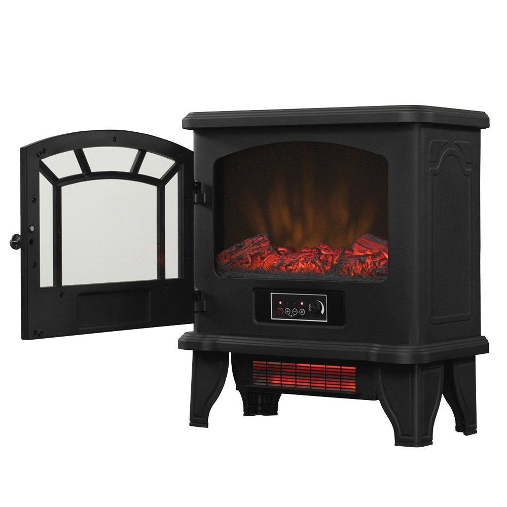 Fabulous Duraflame Dfi 550 22 Infrared Electric Stove Heater Old Beutiful Home Inspiration Xortanetmahrainfo