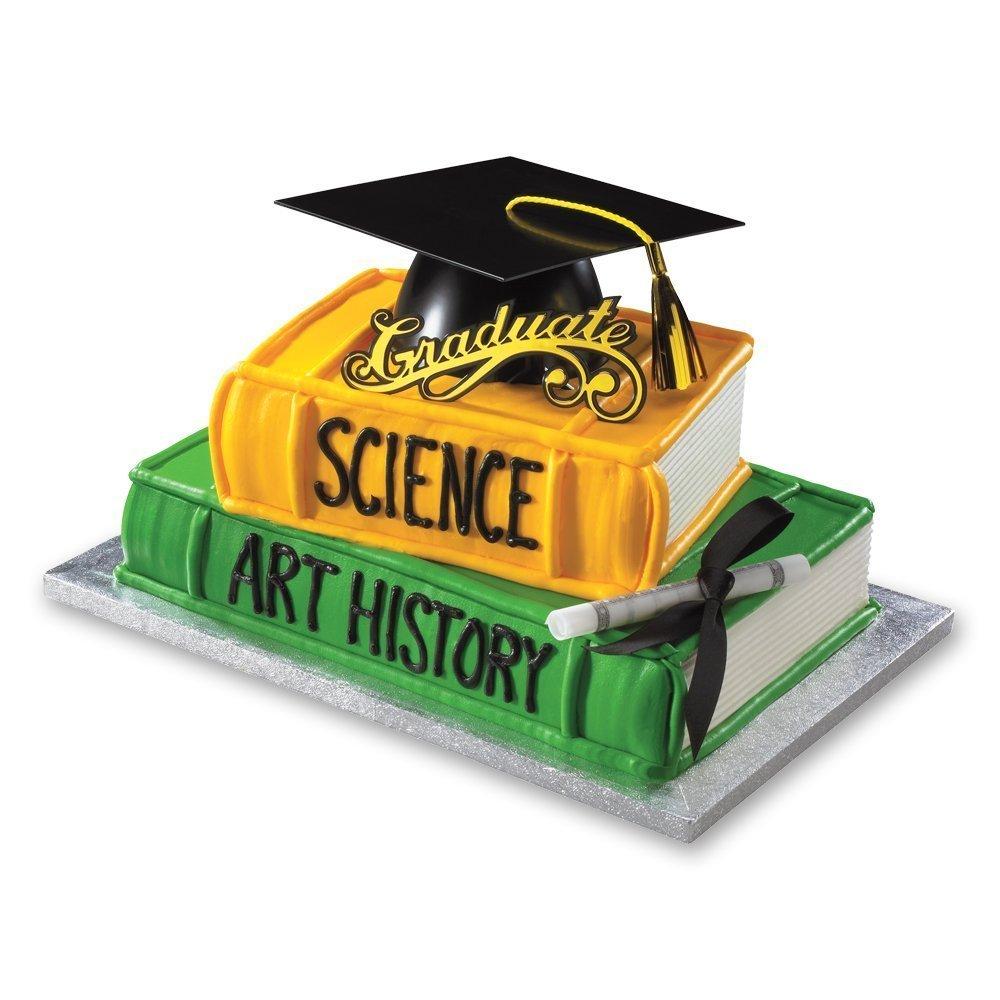 Decopac Graduation Mega Hat DecoSet Cake Topper free image