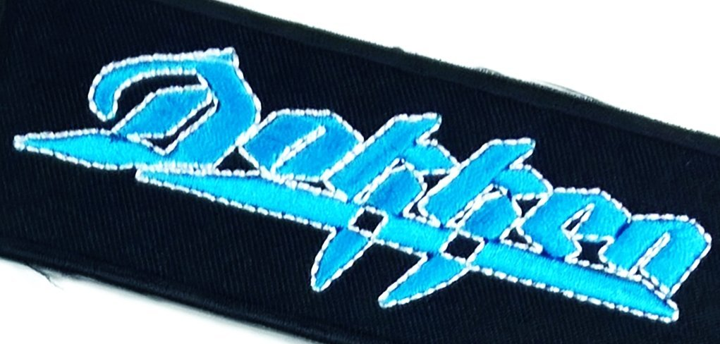 Dokken Rock Band Sew or Iron on Patch NEW