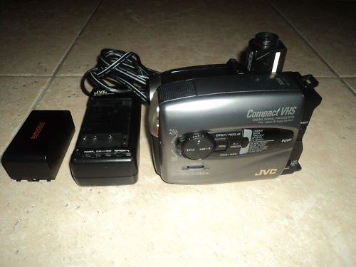 Jvc Gr Axm310 Compact Vhs Camcorder Free Image