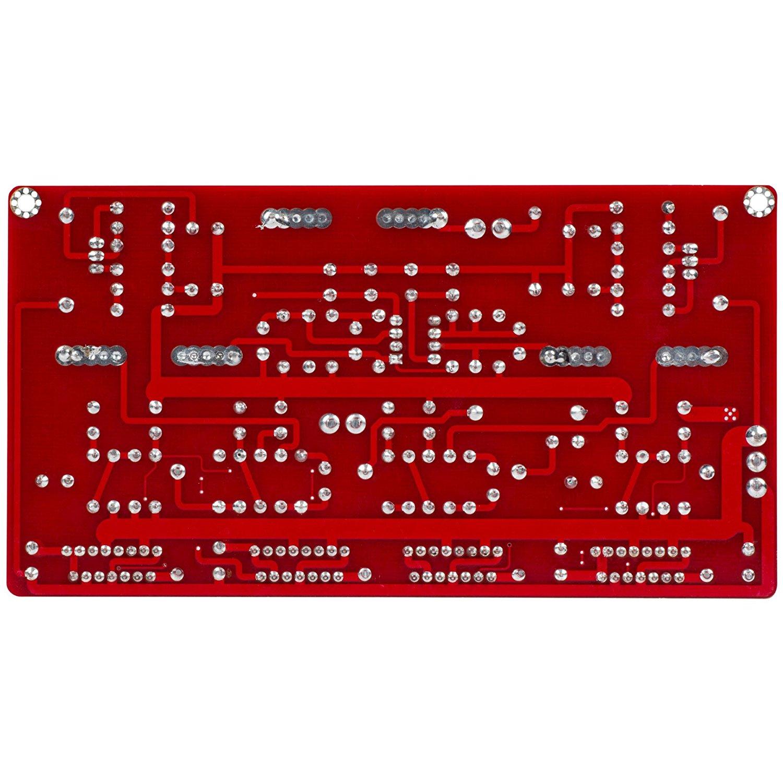 Yuan-Jing Quad TDA7293 BTL Mono Power Amplifier Board with NE5532