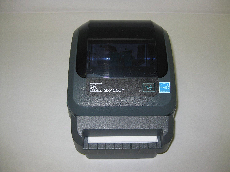Zebra GX420d Barcode Label Printer (P/N GX42-202512-000) N3 free image
