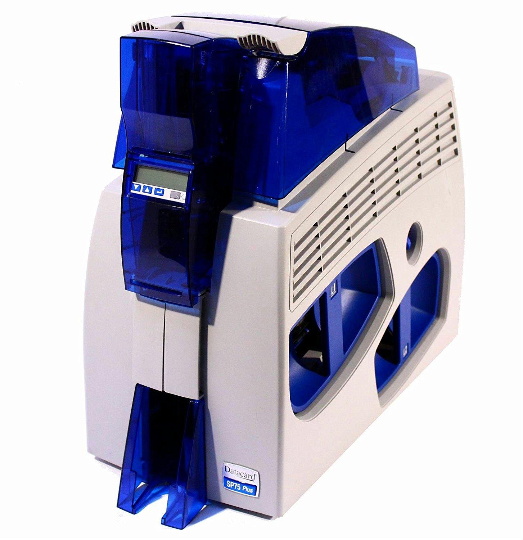 Datacard SP75 Plus SP75C2H1NETL2 300DPI Duplex ID Card Printer With Dual Lamination USB & Network Interface N5 free image