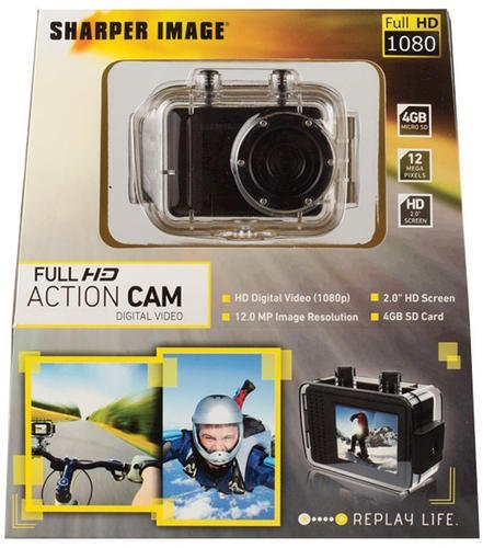 Sharper Image Full Hd 1080p Digital Action Cam Svc455 N3 Free Image