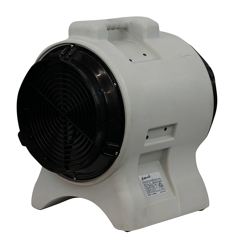 Gray MOUNTO 1HP 3000CFM 12 Axial Blower Exhaust Fan Confined Space Blower ...