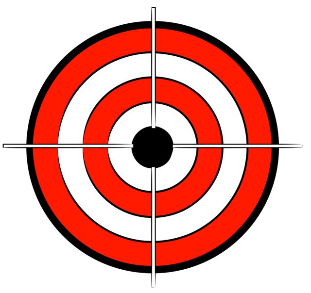 image regarding Printable Bullseye named Printable Bullseye Focus totally free impression