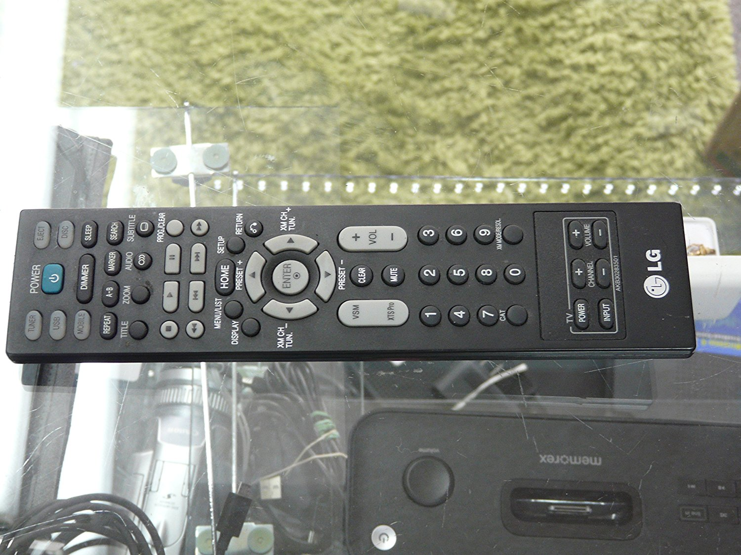 Genuine LG J10D/LFD790 Compact Home Theater REMOTE CONTROL Model