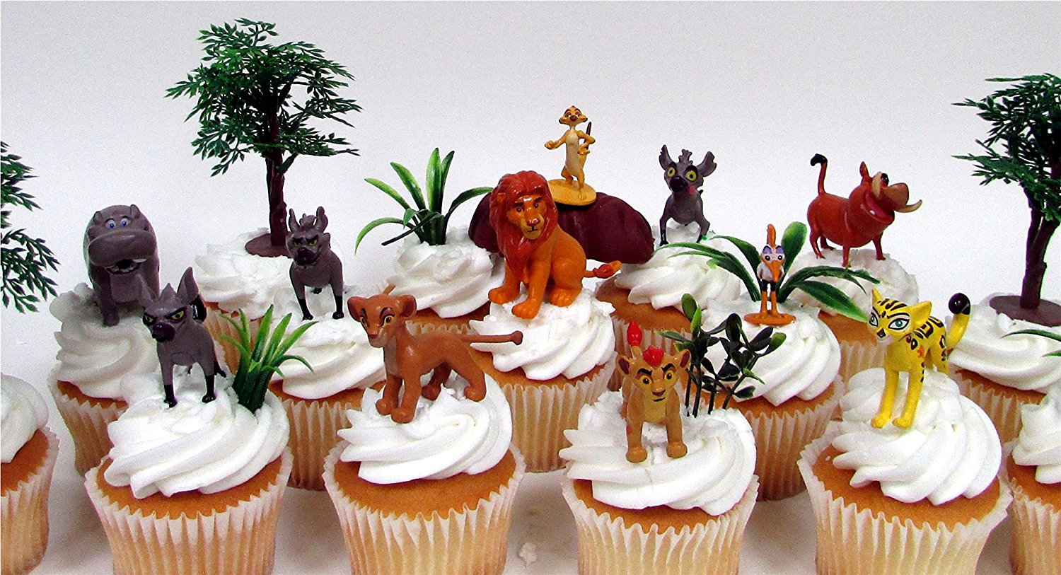 Strange Disney Lion King Lion Guard 20 Piece Birthday Cupcake Topper Set Funny Birthday Cards Online Barepcheapnameinfo