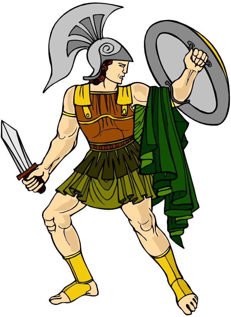 Ares Greek God Cartoon Free Image