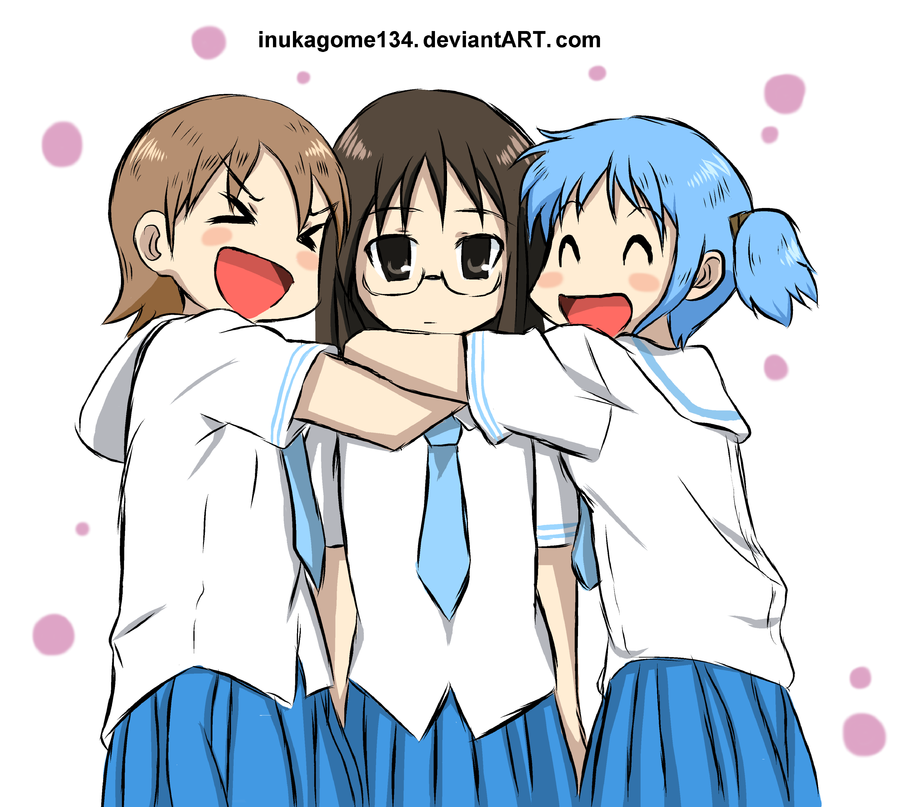 Anime 3 Best Friends Forever Free Image