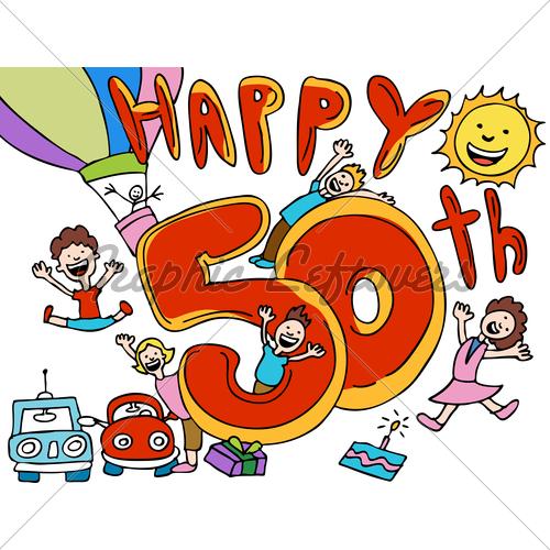 Happy 50th Birthday Cartoons Free Download