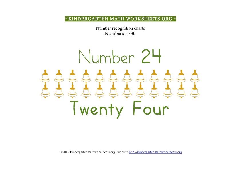Number Recognition Worksheets 1 30 Free Image