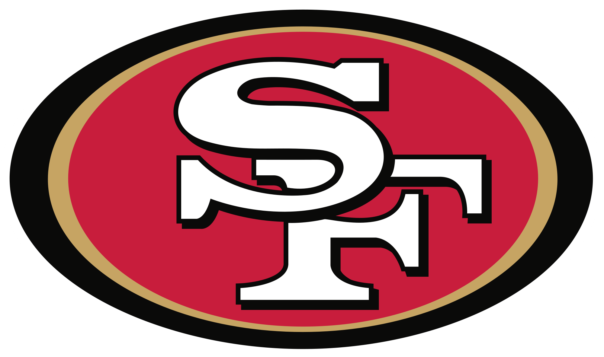 Isolated San Francisco 49ers Logo Free Image Download