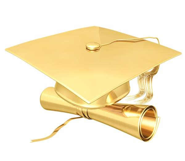Posts Related To Gold Graduation Cap Clip Art Free Image