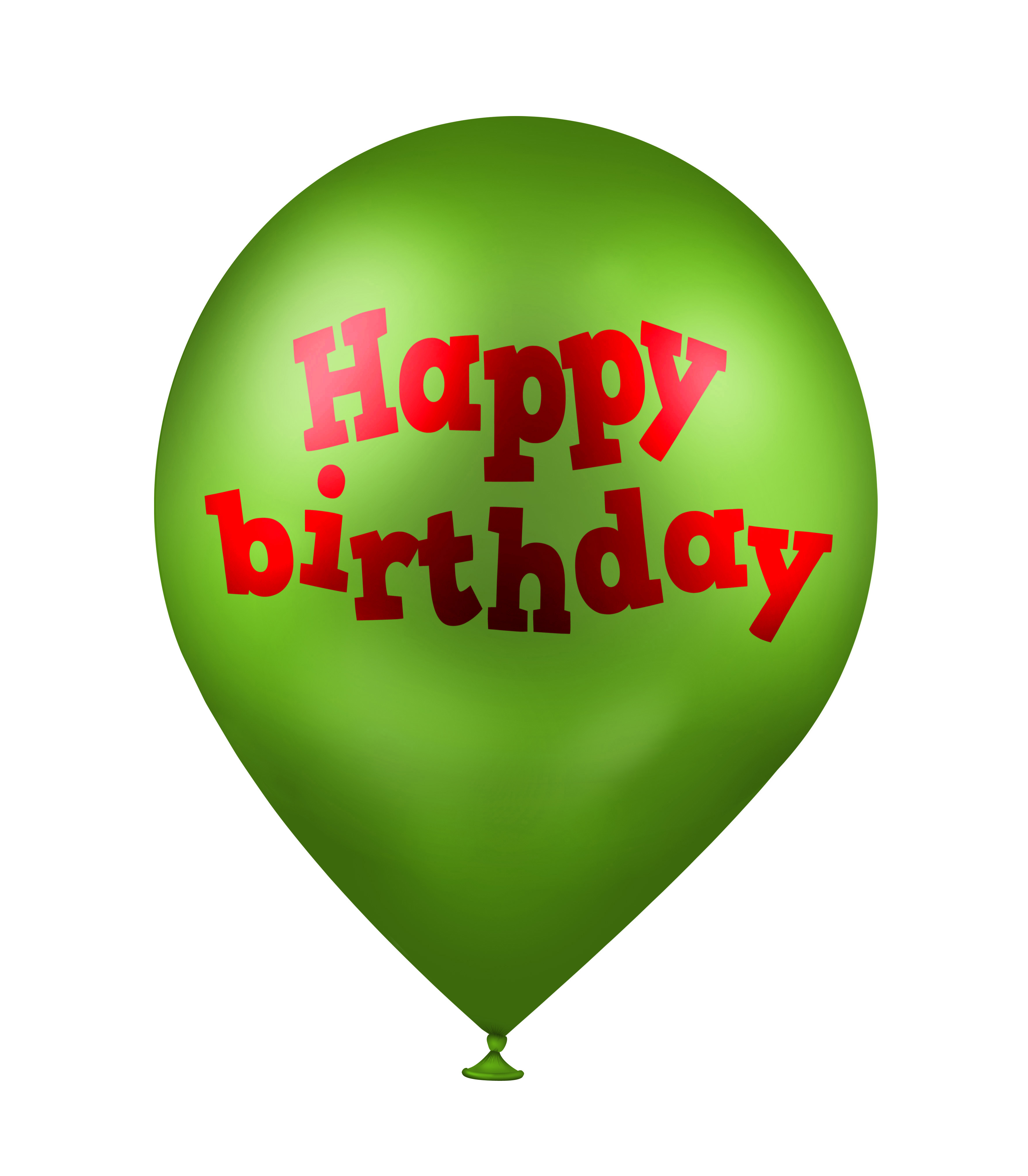 Happy Birthday Wishes Balloons Free Download