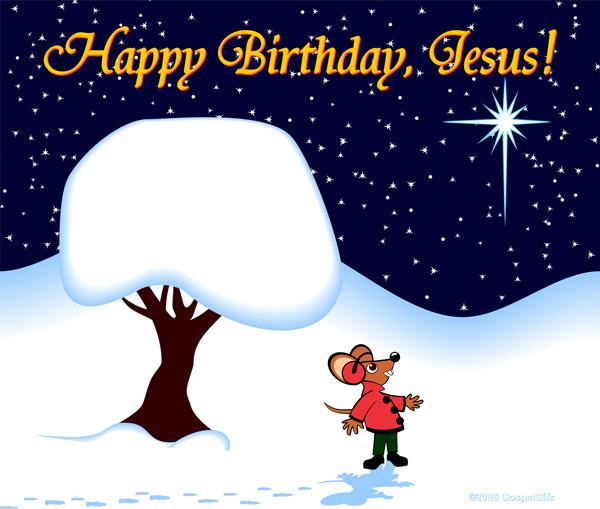 Happy Birthday Jesus Clip Art Jpeg Free Image Download