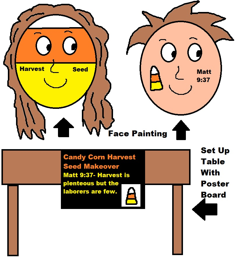 Fall Festival Ideas For Face Painting Drawing Free Image