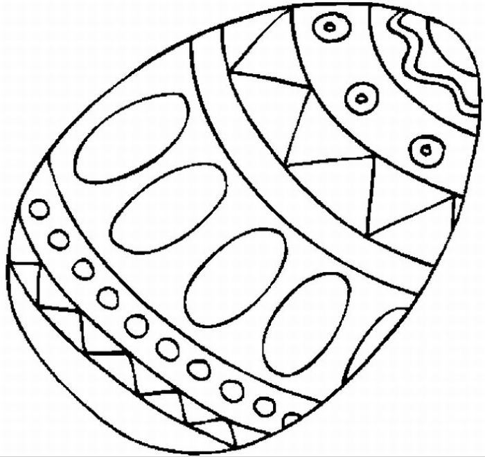 Free Printable Easter Egg Coloring Pages N2 Free Image