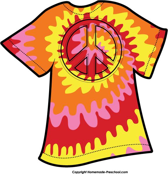 tie dye shirt clip art n2 free image rh pixy org tie dye peace sign clipart tie dye clipart free