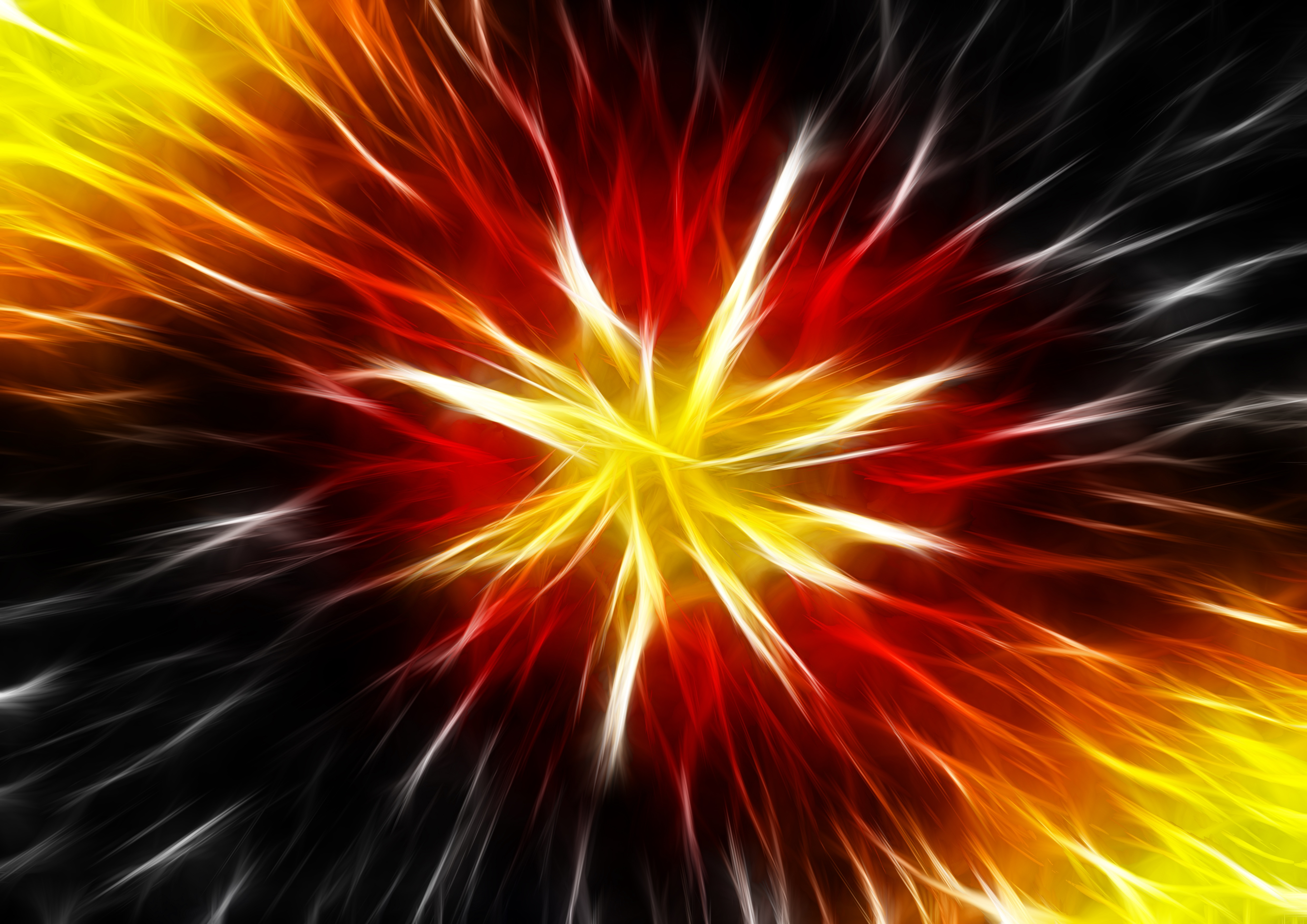 Abstract Star Explosion Wallpaper Free Download