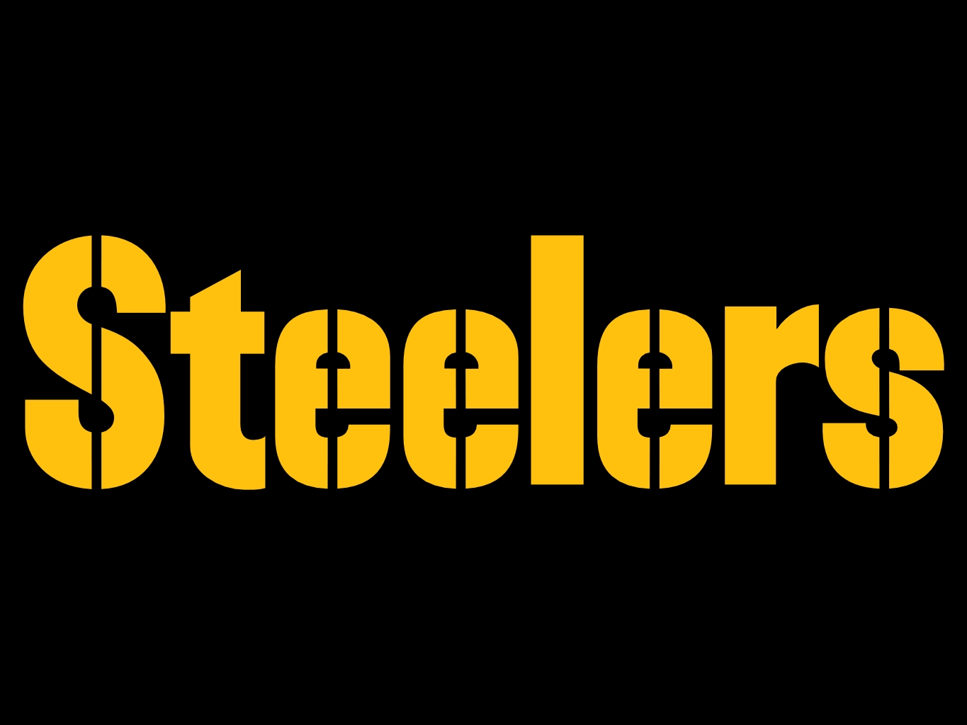 graphic regarding Printable Steelers Logo called Pittsburgh Steelers Symbol N8 free of charge impression
