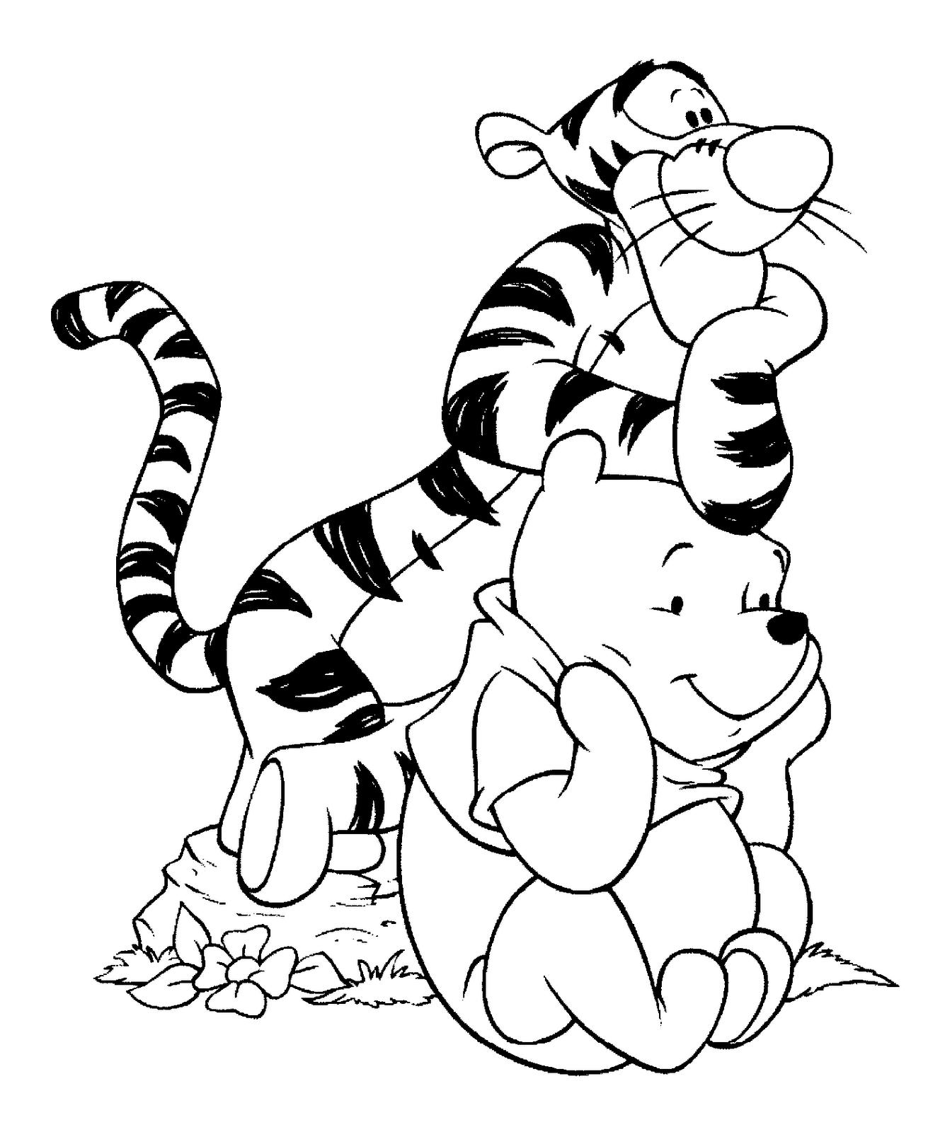 Dibujos Animados Para Colorear Free Image