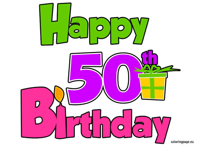 Happy 50th Birthday N10 Free Download