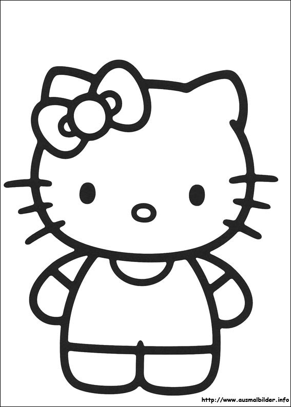 Hello Kitty Malvorlagen Free Image