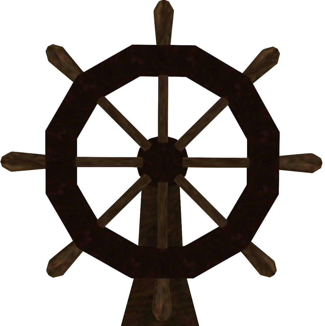 Pirate Ship Steering Wheel Template Drawing Free Image