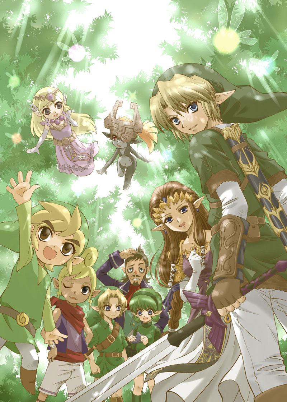 Legend Of Zelda Link Fan Art Free Image