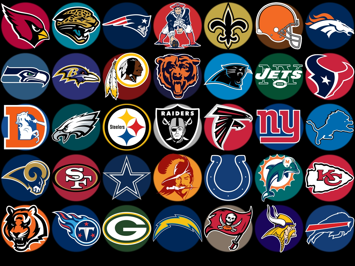 All NFL Logos clipart free image